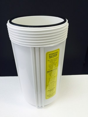 Seals for white filter housing - WaterGuard only
